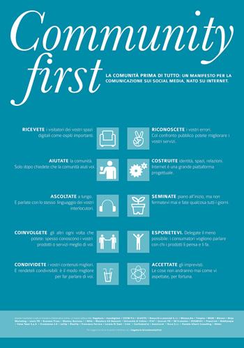 Community First - Un manifesto